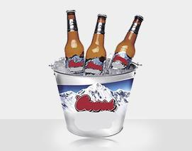 Beer Ice Tinplate Bucket